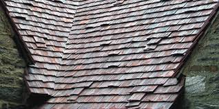 Flat Tile Roof Flat Roof Tile Clay Antique Ludowici