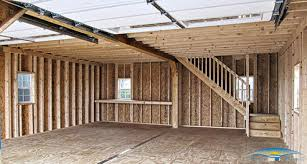 how to build a garage loft two story garage prefab garage with apartment horizon structures
