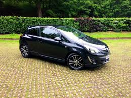 used vauxhall corsa black edition for sale motors co uk