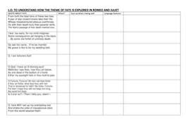 romeo and juliet aqa 1 9 30 premium worksheets by