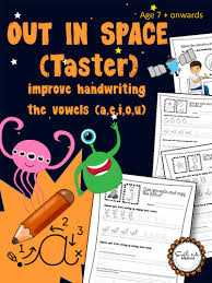 write vowels space cursive handwriting worksheets for 7 11
