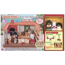 Sylvanian Families Garden Sylvanian Families Brick Oven Bakery Gift Set Toyworld