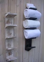 bathroom towel holder ideas best 25 towel racks ideas on towel holder bathroom