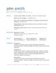 resume template word 2015 free free cv templates word 2015 fungram co