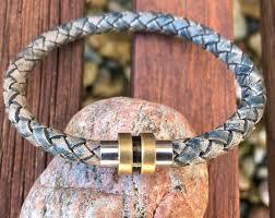 braided leather bracelet women images Womens leather bracelets jpg
