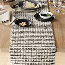 crate and barrel table runner crate barrel canton wool table runner pattern and products