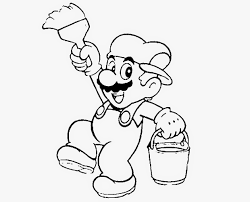 colour drawing free wallpaper super mario bros coloring drawing