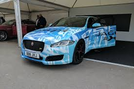 updated jaguar xjr 575 hits goodwood festival of speed 2017 auto