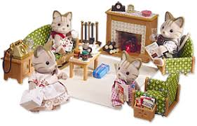 Calico Critters Deluxe Living Room Set Calico Critters - Sylvanian families living room set