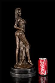 femme nue cuisine pur cuivre nu femme bronze sculpture avec base femme figurines