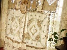 Antique Lace Curtains Handmade Lace Curtains Drapes Valances Ebay