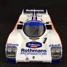 rothmans porsche logo bell signed 1 18 porsche 962 le mans 1986
