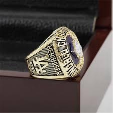 Baseball Wedding Ring by 1988 Los Angeles Dodgers Mlb World Series Championship Ring