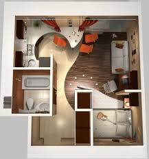 Best Small Apartment Plans And Layouts Images On Pinterest - Apartments design plans