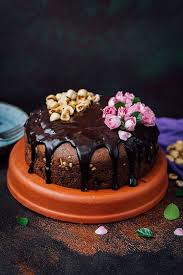 hazelnut triple chocolate cake give recipe
