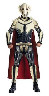 Star Wars Halloween Costumes Adults Amazon Star Wars Deluxe General Grievous Costume Clothing