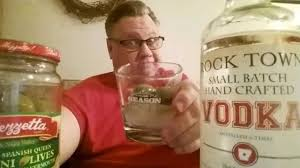 martini rock drinkin u0027 with the beer whisperer rock town vodka dirty martini