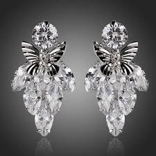 wedding earrings chandelier wedding bridal earrings pageant earrings chandelier earrings
