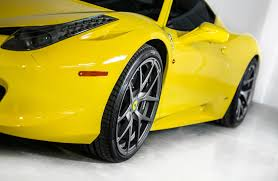 ferrari yellow paint code vorsteiner ferrari 458 italia exudes perfect stance in striking color