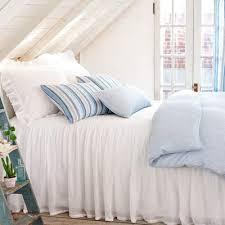 light blue linen duvet covers pine cone hill corsica linen bedding