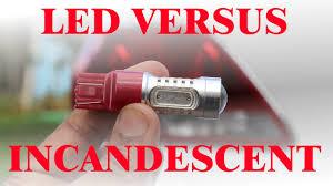 lexus es330 light bulbs led vs incandesent tail light bulb review youtube