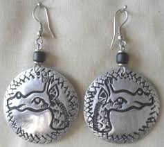aluminum earrings 29 best aluminum jewelry images on africans