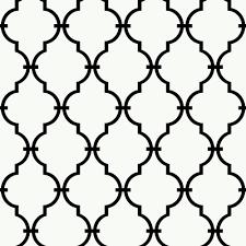 black u0026 white modern trellis wallpaper walmart com