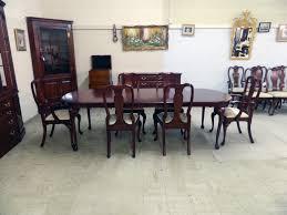 Henkel Harris Wild Black Cherry Dining Table SOLD  Jenkins Antiques - Henkel harris dining room table