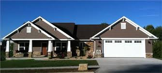 craftsman style ranch house plans home style
