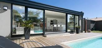 verande design mod礙le v礬randa design v礬randa toit plat en aluminium r礬noval
