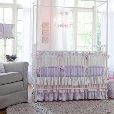Lilac Damask Crib Bedding Attractive Grey And Purple Crib Bedding 7 Lilac And Silver Gray
