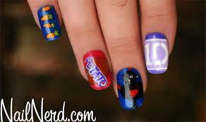 tutorial nail art one direction nail nerd nail art for nerds
