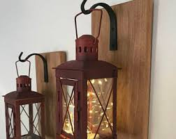 lanterns home decor rustic lanterns etsy