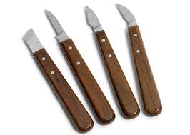 Wood Carving Kitchen Knife by Carving Knives