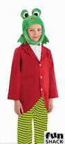 toad halloween costumes mr frog toad costume girls boys book week fancy dress s m l xl
