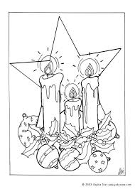 wax lighted candles coloring pages hellokids