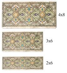 Tile Borders What In The World Is A Listello Stoneimpressions