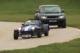land rover dakar land rover bowler exr s v caterham seven supersport race autocar
