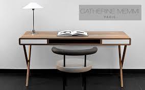 bureau bois design contemporain table bureau bureaux et tables decofinder decorama office