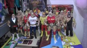 large figure collection wwf wcw tna