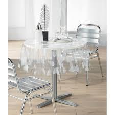 nappe cuisine plastique nappe plastique transparente pour table ronde