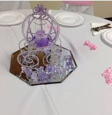 cinderella themed centerpieces cinderella carriages for centerpieces for a wedding reception