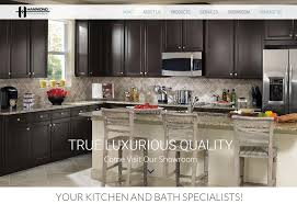 Kitchen Cabinets Melbourne Fl Hammond Kitchens And Bath Launches New Website By Harvest Web