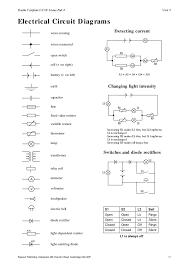schematic diagram symbols wiring diagram components