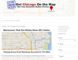 Put On The Map Get Chicago On The Map Lift Conversions