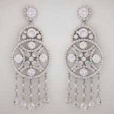 chandelier earings cz chandelier earrings large chandelier earrings with dangles
