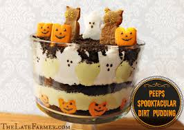 spooktacular dirt pudding