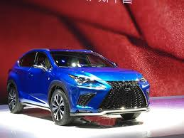 blue lexus nx 2017 lexus nx unveiled at auto shanghai 2017