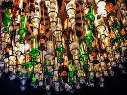 Beer Bottle Chandelier Diy Beer Bottle Chandelier Wide Make A Beer Bottle Chandelier