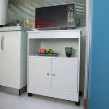 microwave in cabinet shelf white home kitchen microwave storage cabinet shelf cart rolling home